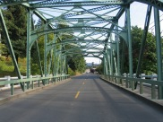 Stand By Me Bridge - Brownsville Oregon