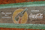 Stand By Me Coke Sign Brownsville Oregon